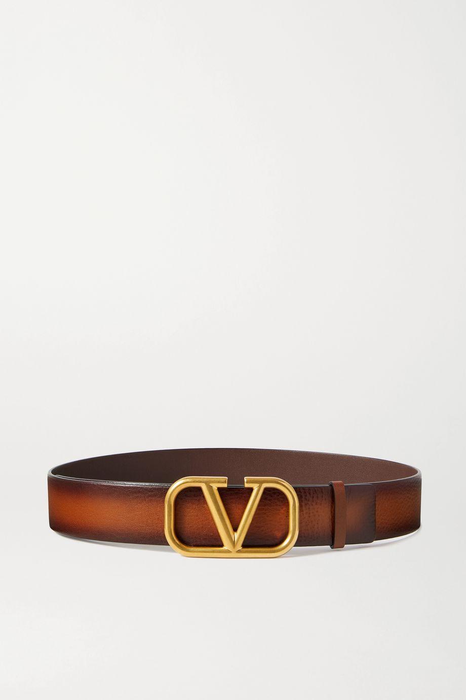 Valentino Ceinture en cuir VLOGO Valentino Garavani