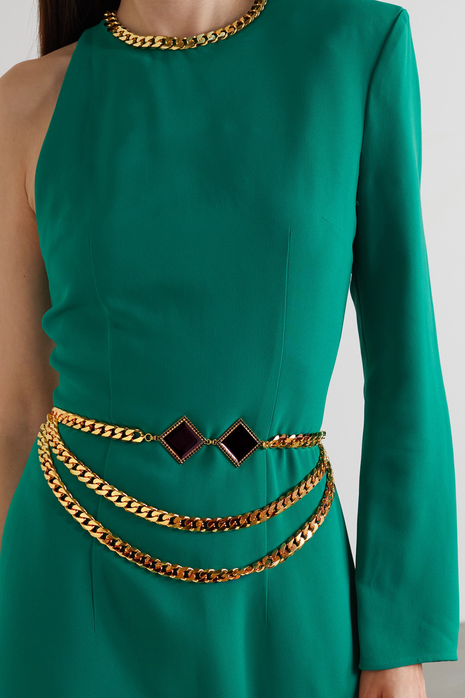 Rowen Rose Gold-tone and enamel belt