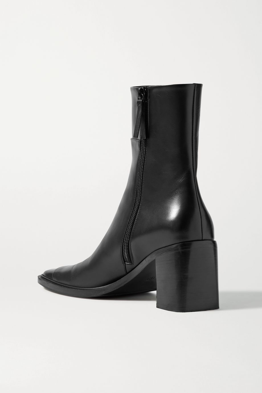 Patch paneled leather ankle boots by THE ROW, available on net-a-porter.com for EUR1275 Kendall Jenner Shoes Exact Product