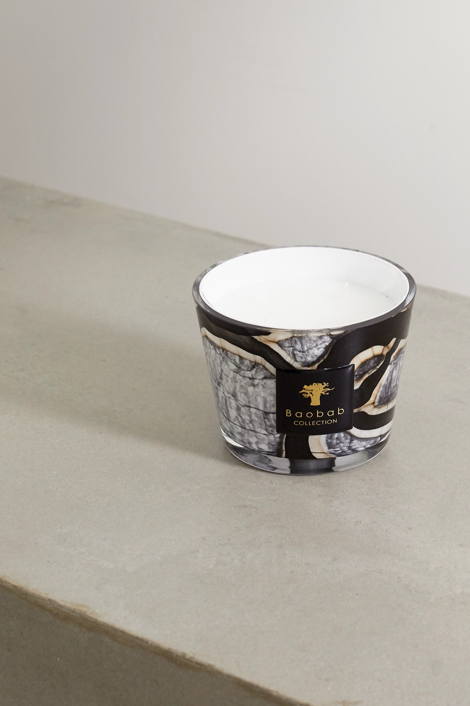 Baobab Collection Stones Marble Max 10 scented candle, 1.3kg