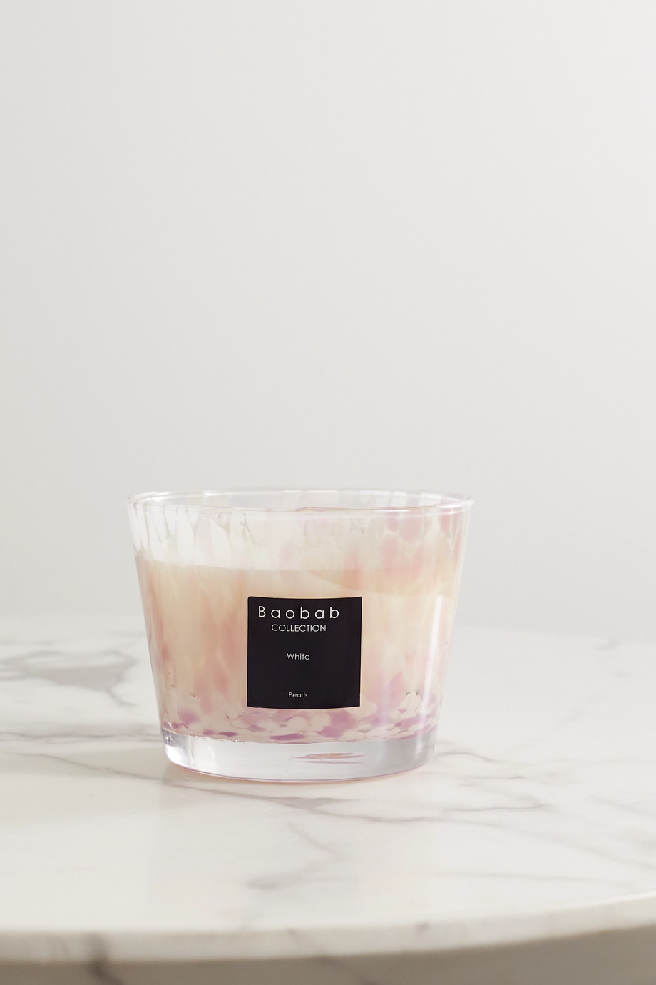 Baobab Collection White Pearls Max 10 scented candle, 1.3kg