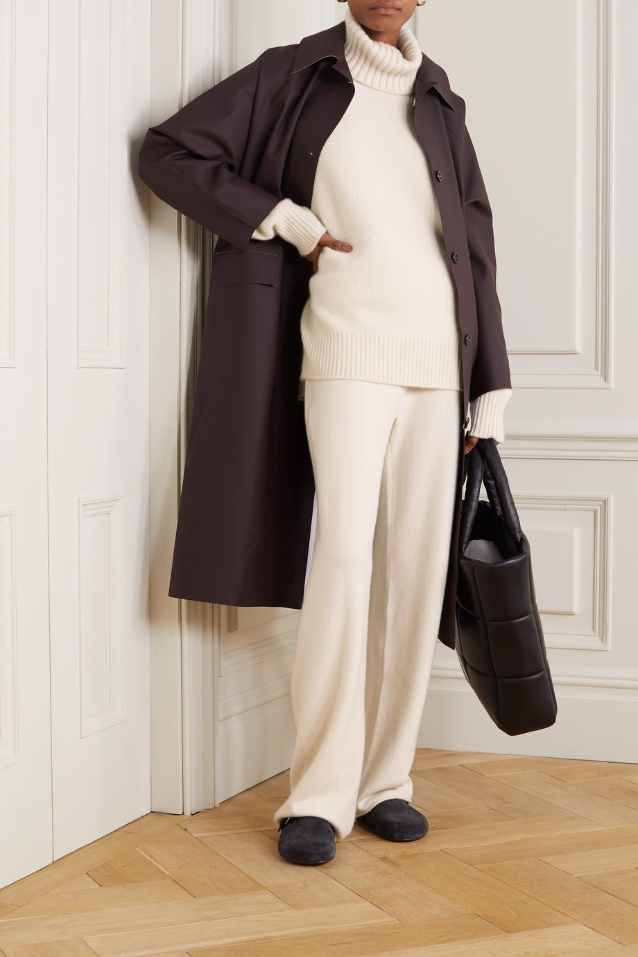 Extreme Cashmere N°20 Oversize Xtra Rollkragenpullover aus einer Kaschmirmischung