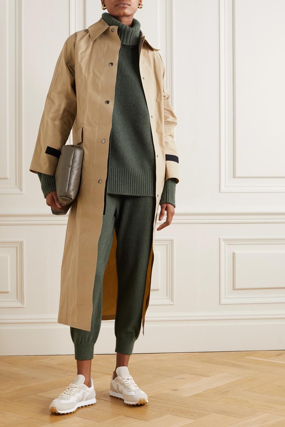 Extreme Cashmere N°20 Oversize Xtra cashmere-blend turtleneck sweater