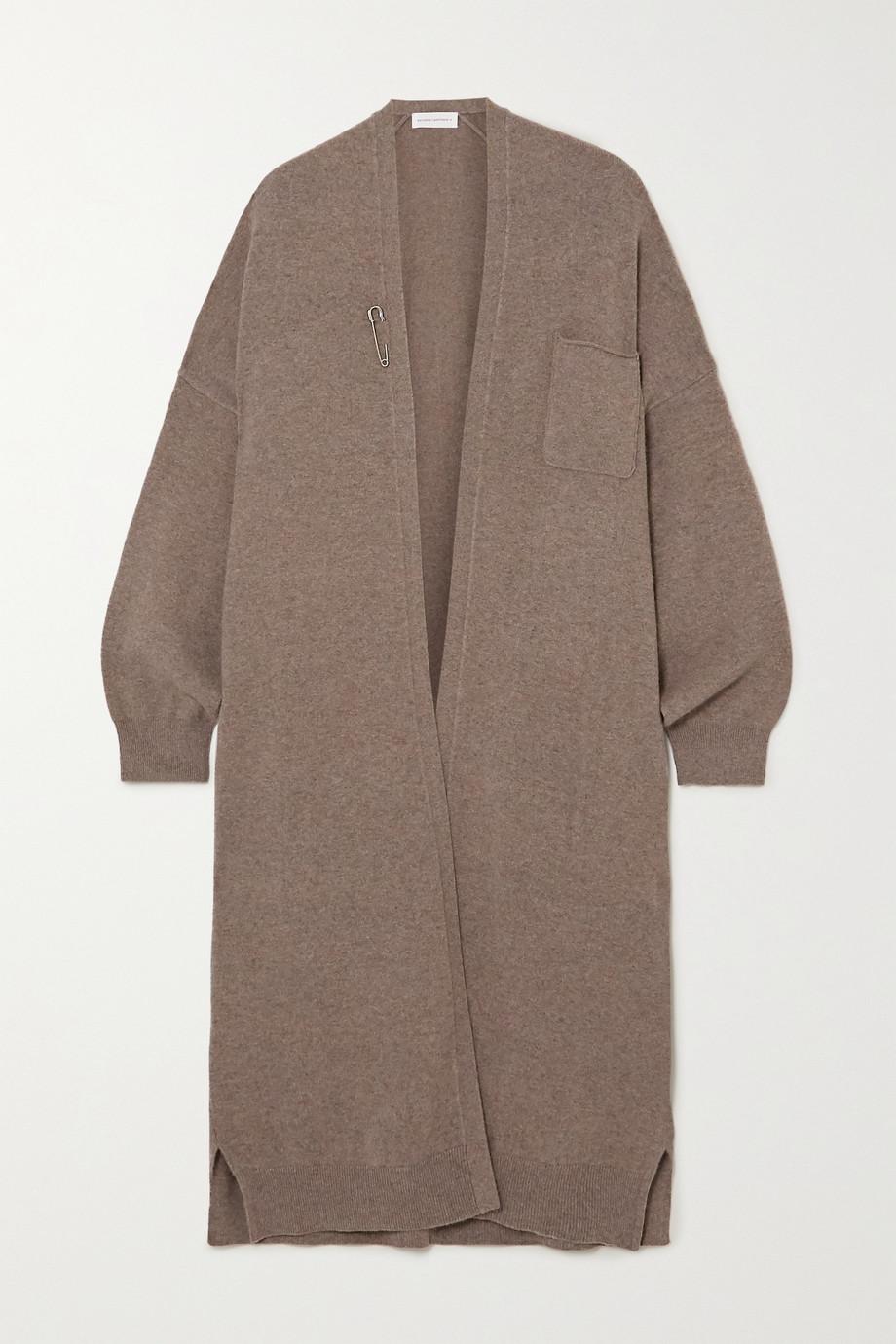 Extreme Cashmere Koto embellished cashmere-blend cardigan