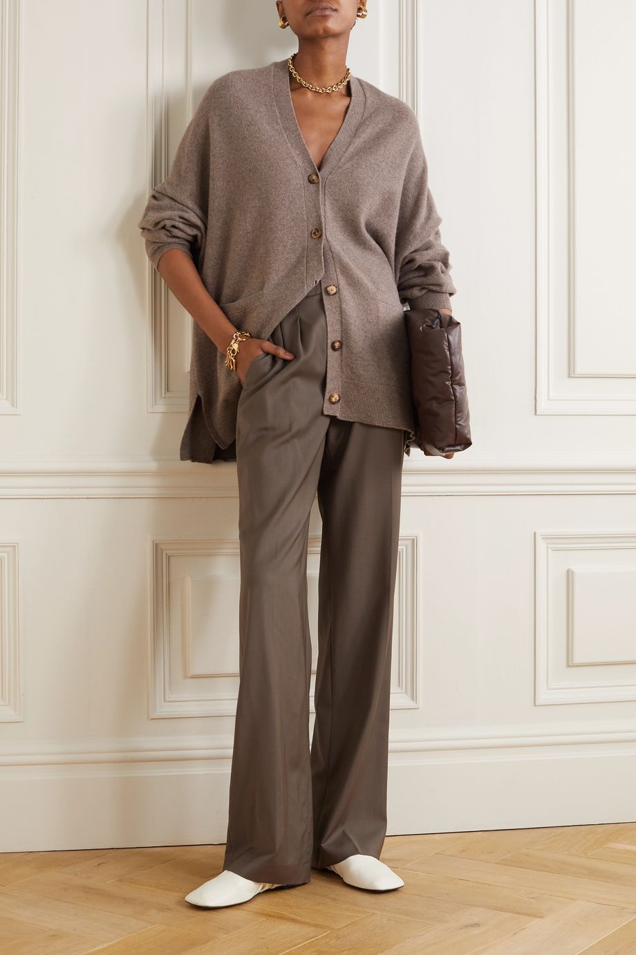 Extreme Cashmere Tokio cashmere-blend cardigan