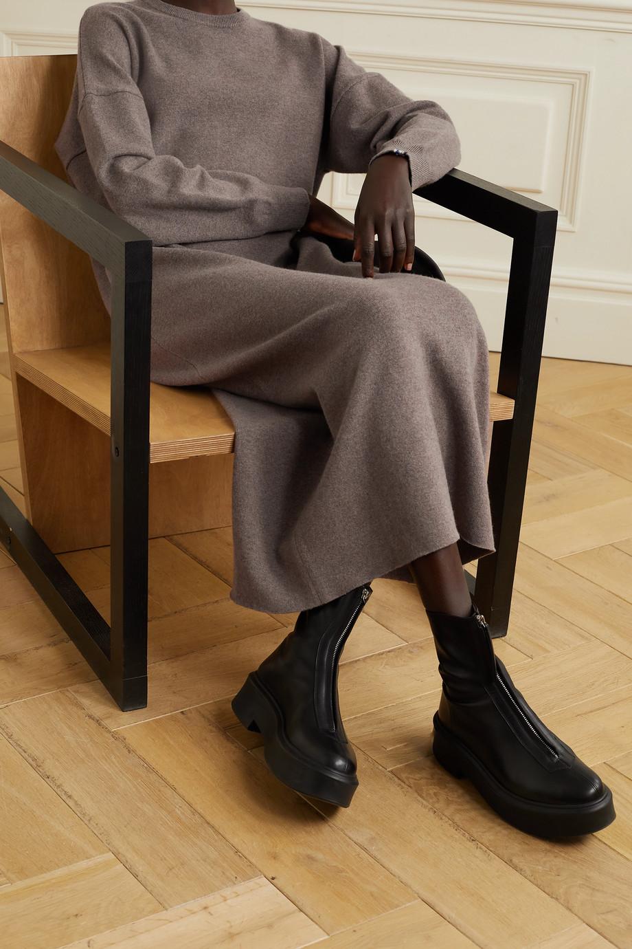 Extreme Cashmere Mélange cashmere-blend maxi dress