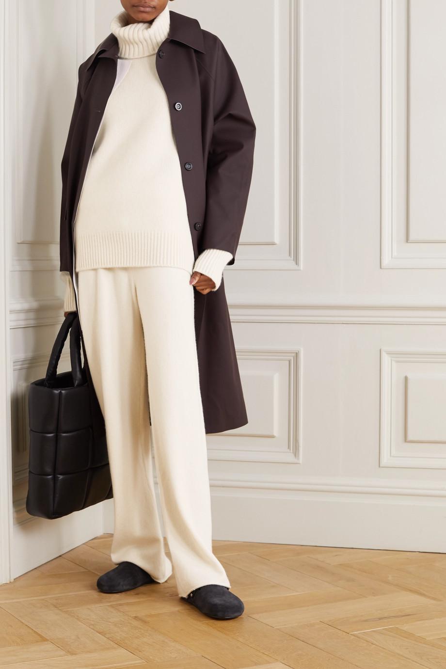 Extreme Cashmere Pantalon de survêtement en cachemire mélangé N°104