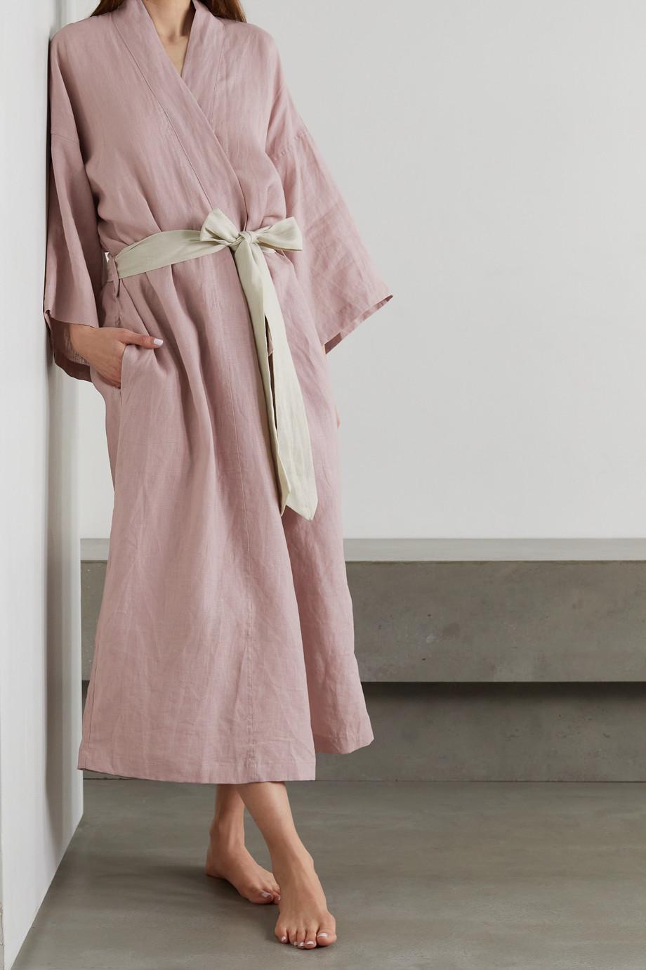 Deiji Studios Kimono en lin lavé