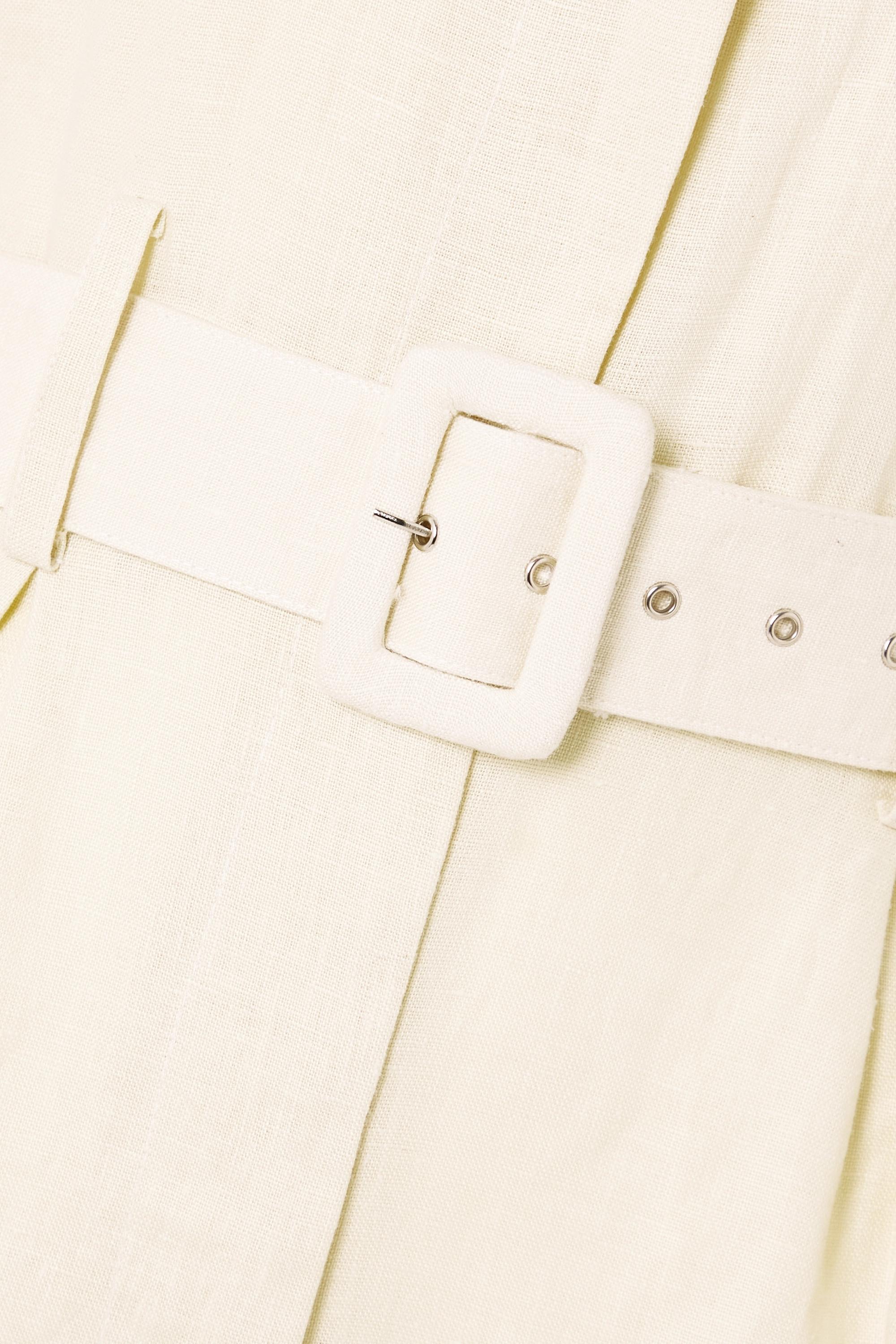 Faithfull The Brand + NET SUSTAIN Frederikke belted linen jumpsuit