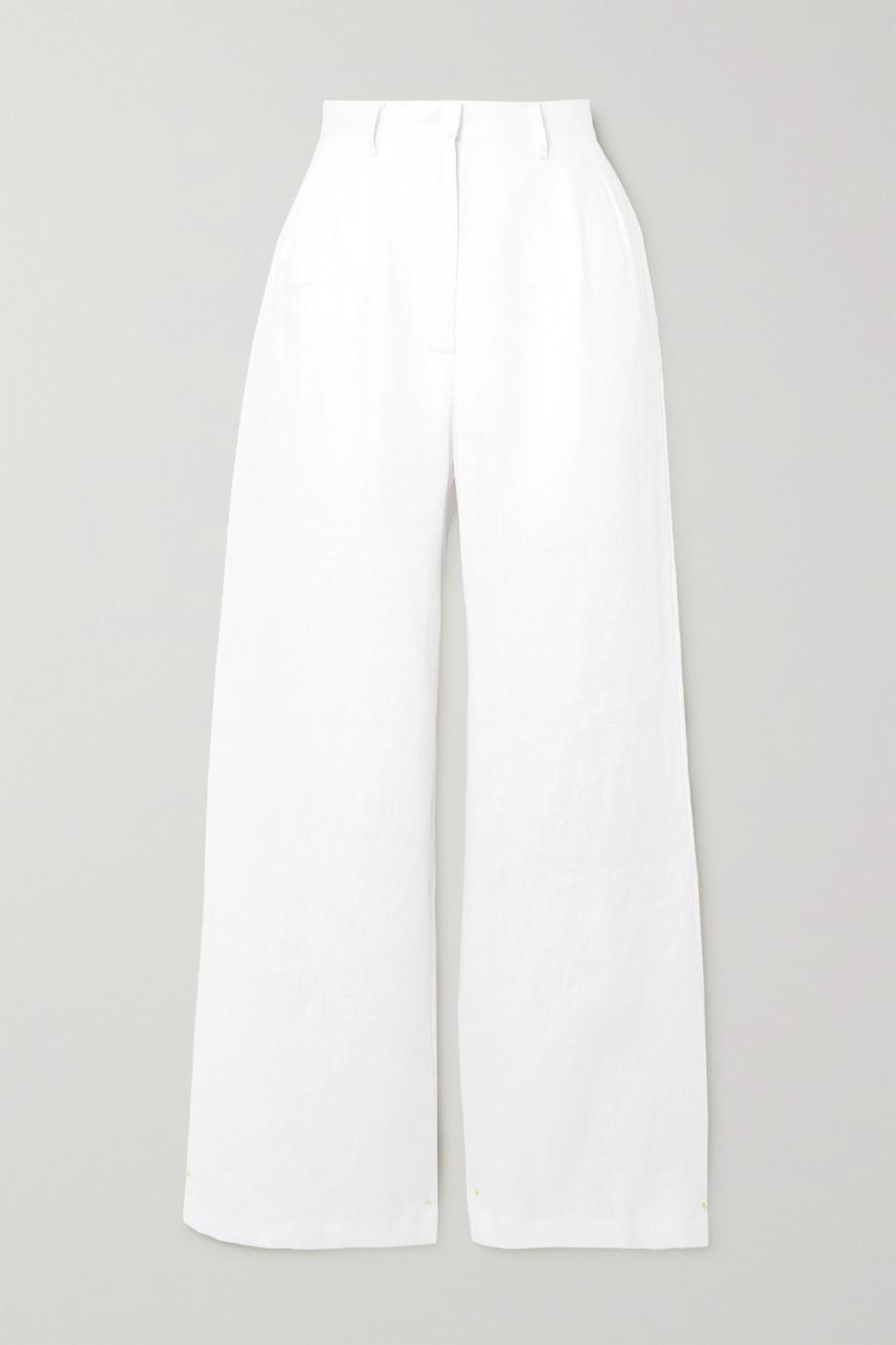Faithfull The Brand + NET SUSTAIN Musa linen wide-leg pants