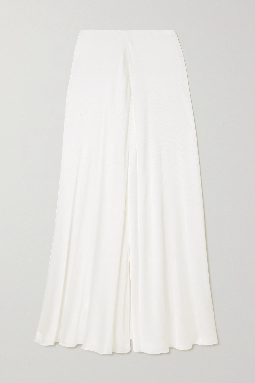 Galvan Felicity crepon maxi skirt