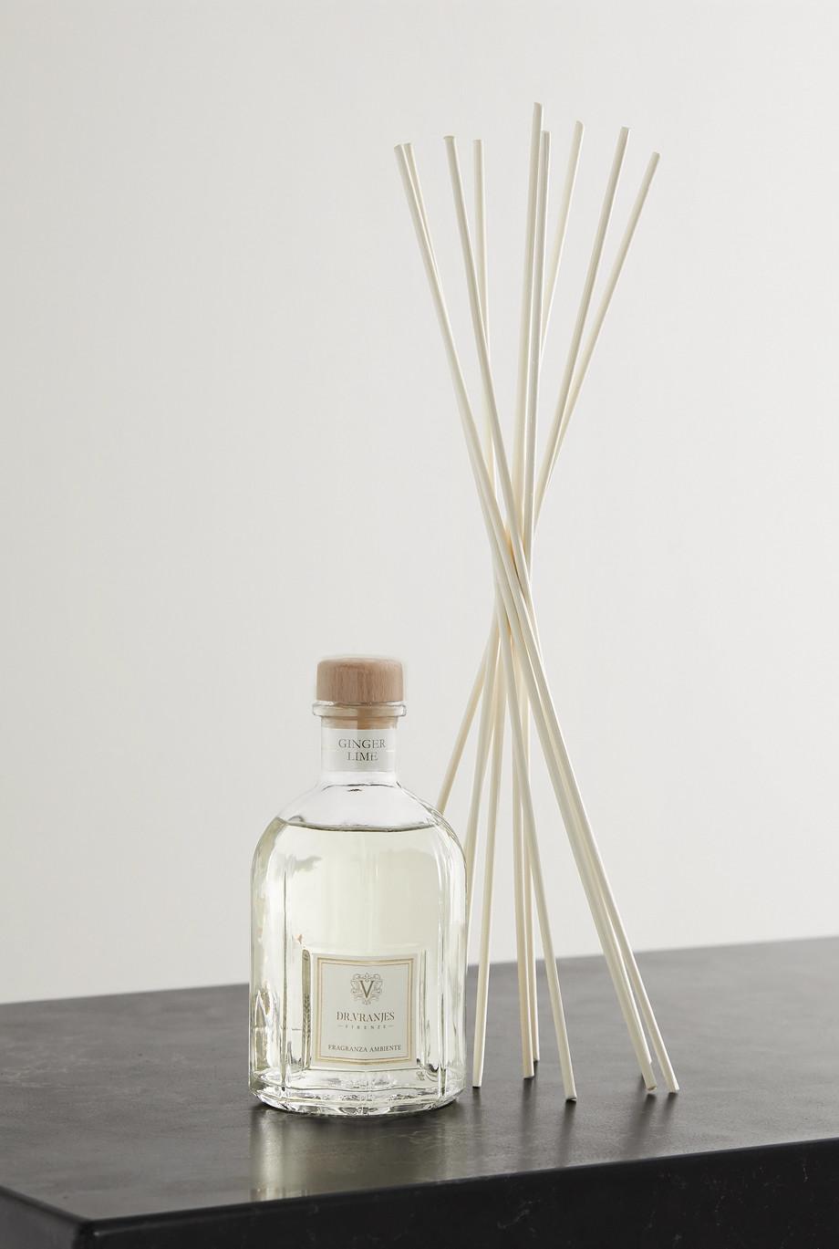 Dr. Vranjes Firenze Ginger Lime Raumduft mit Schilfstäbchen, 250 ml