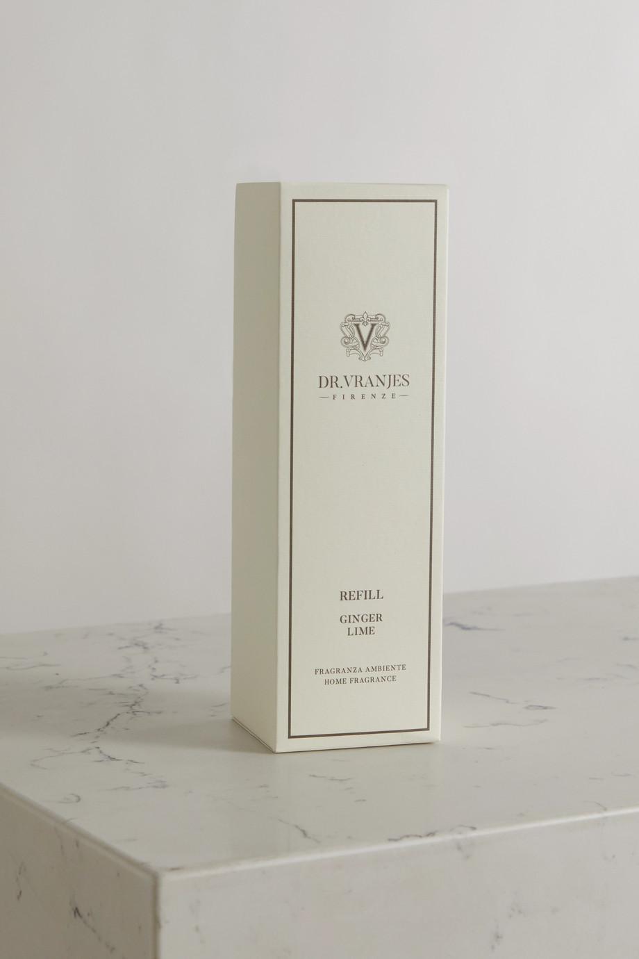 Dr. Vranjes Firenze Ginger Lime reed diffuser refill, 500ml