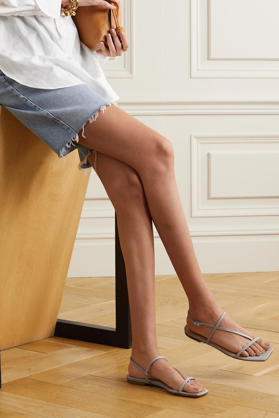 aeyde Ella leather sandals