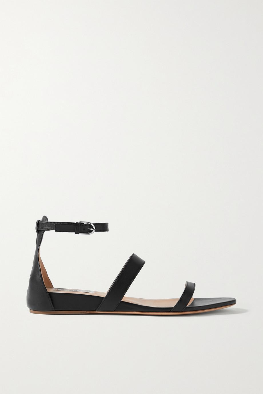 Gabriela Hearst Lekker leather wedge sandals