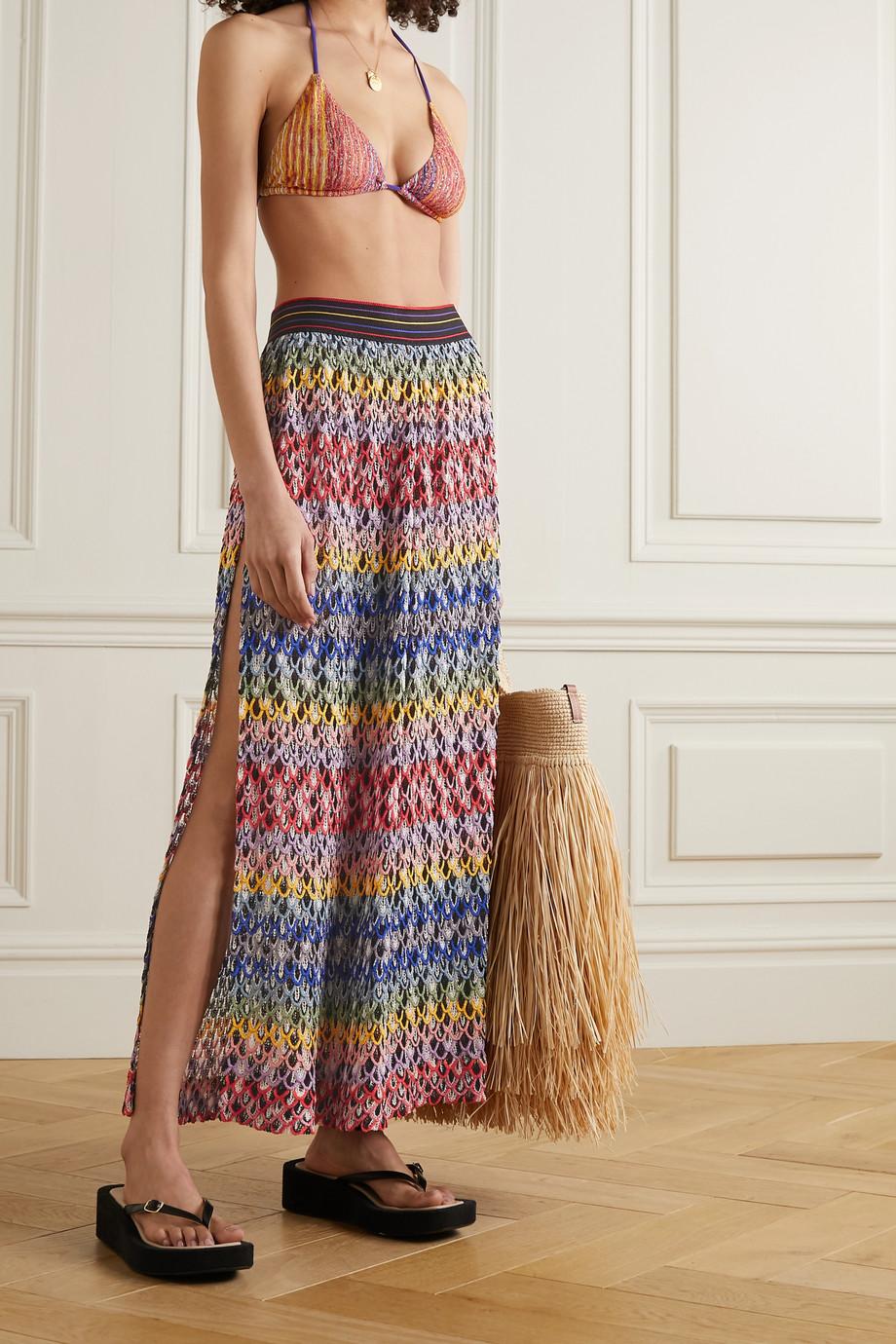 Missoni Pantalon en mailles crochetées Mare
