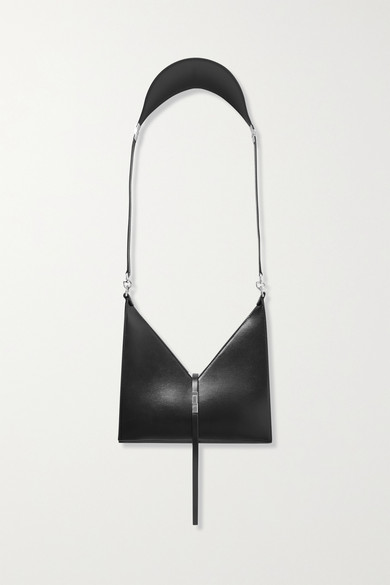 Givenchy Leathers CUT OUT SMALL LEATHER SHOULDER BAG