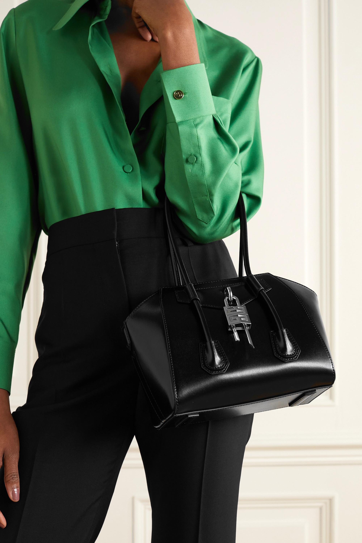 Givenchy Antigona Lock kleine Tote aus Leder