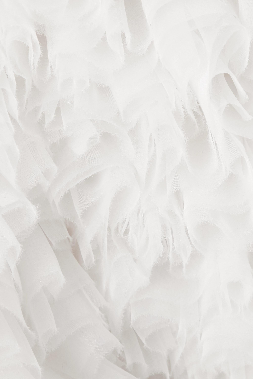 Tomo Koizumi X Emilio Pucci Minikleid aus Tüll mit Rüschen
