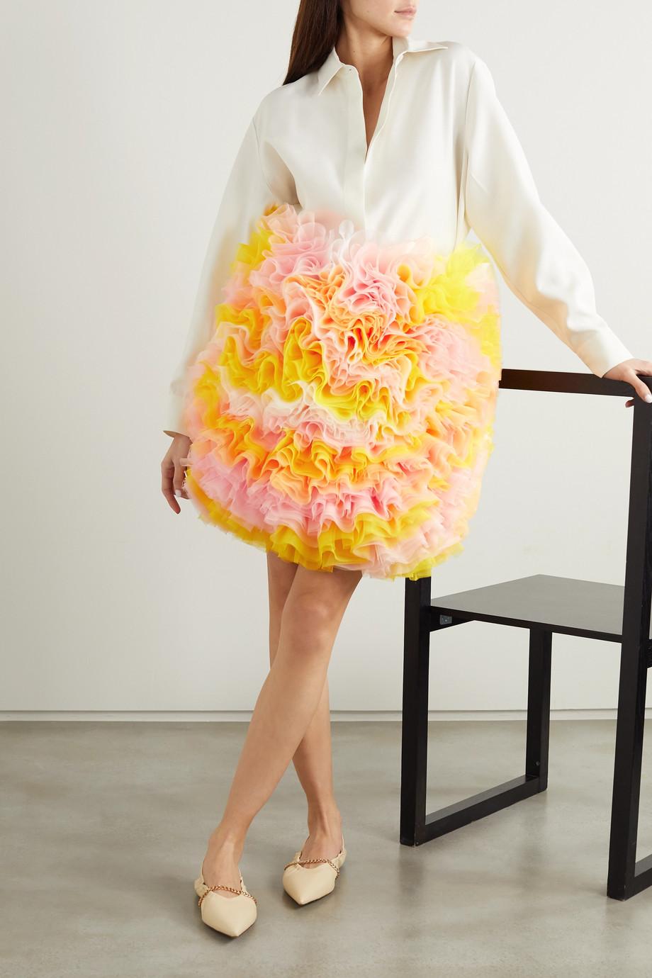 Tomo Koizumi X Emilio Pucci Ruffled tulle skirt