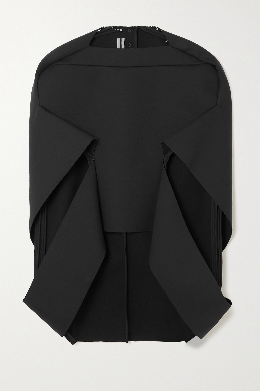 Rick Owens Cape-effect wool-blend jacket