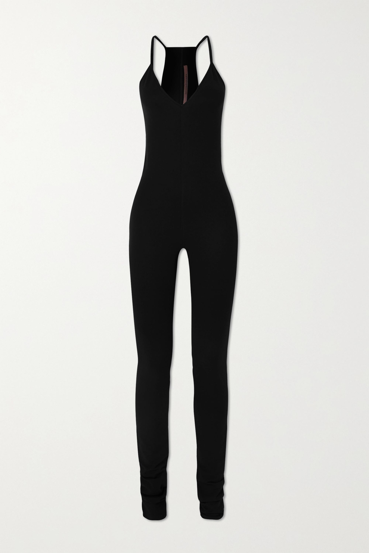 Rick Owens Stretch-jersey jumpsuit