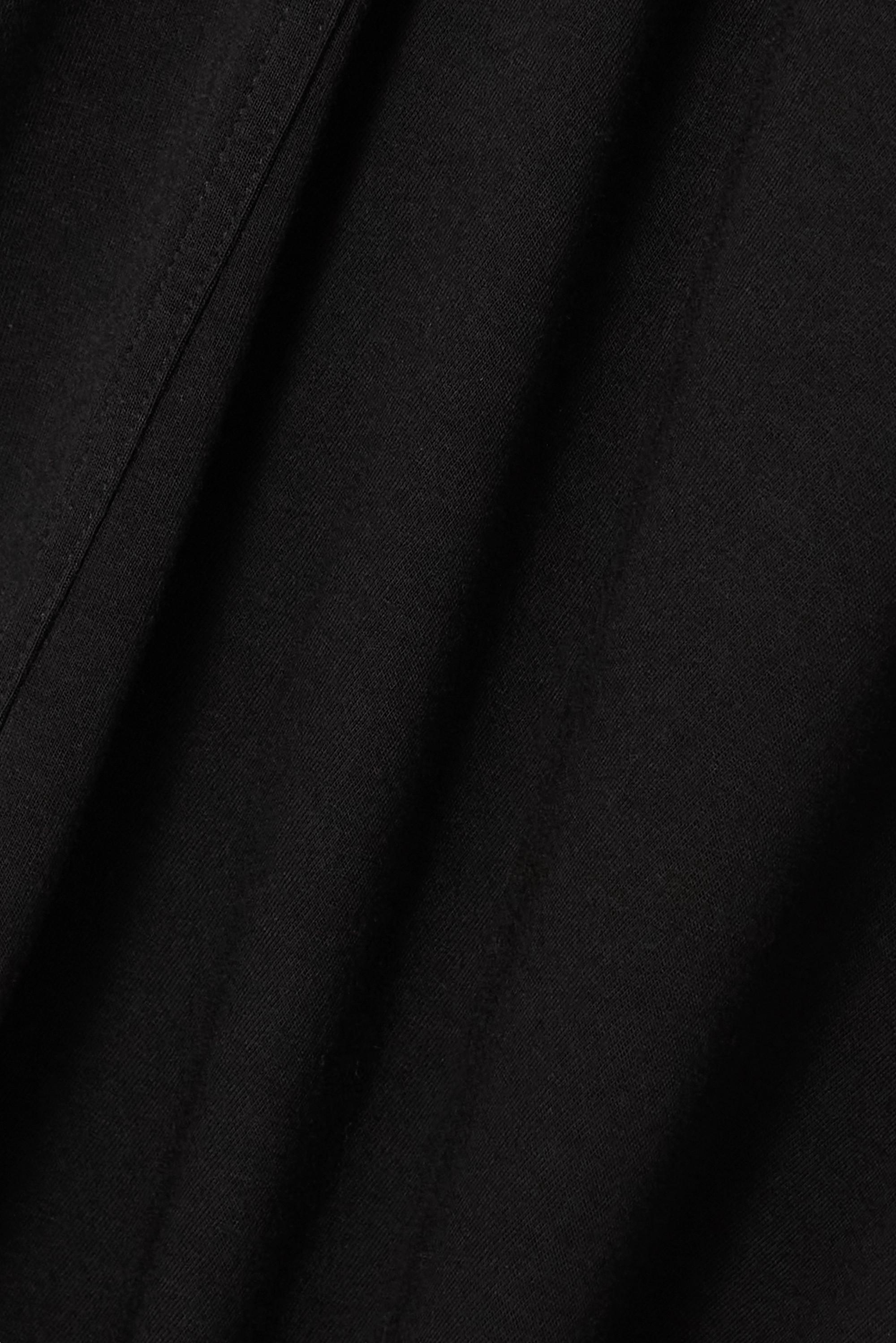Rick Owens Asymmetric jersey dress