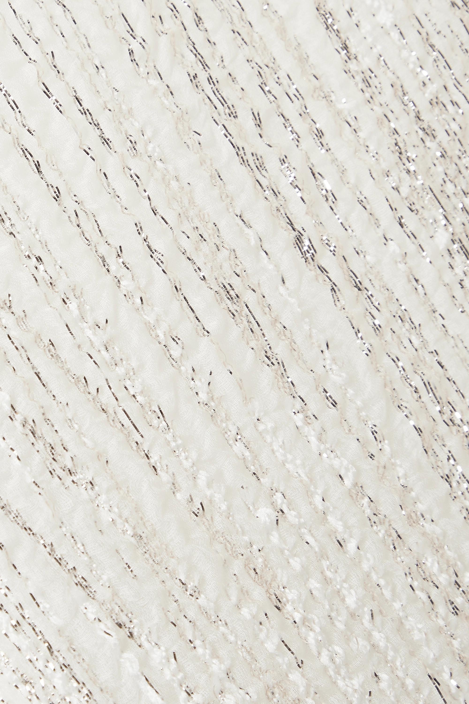 Taller Marmo Rain Kaftan aus Metallic-Cloqué