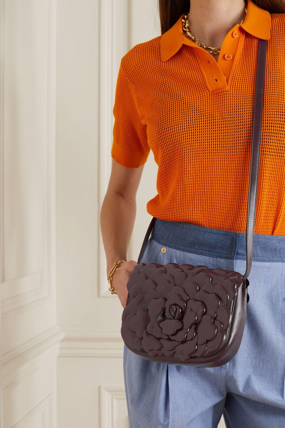 Valentino Sac porté épaule en cuir 03 Rose Edition Atelier Valentino Garavani Small