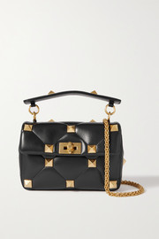 Valentino Valentino Garavani Roman Stud quilted leather shoulder bag