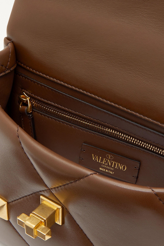 Valentino Sac porté épaule en cuir Roman Stud Valentino Garavani