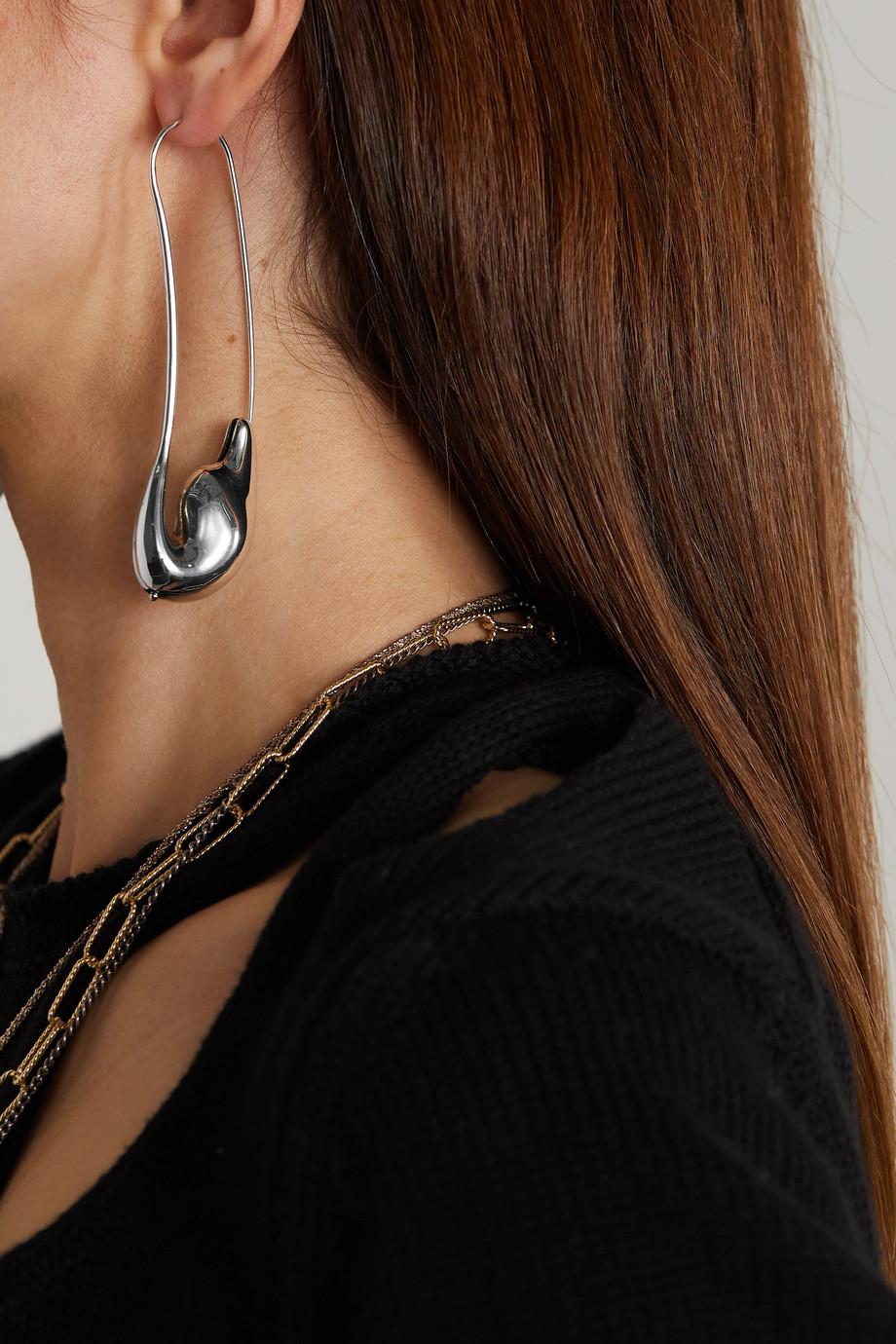 Chloé Trudie silver-tone earrings