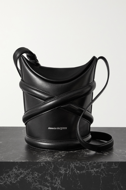 Alexander McQueen The Curve kleine Beuteltasche aus Leder