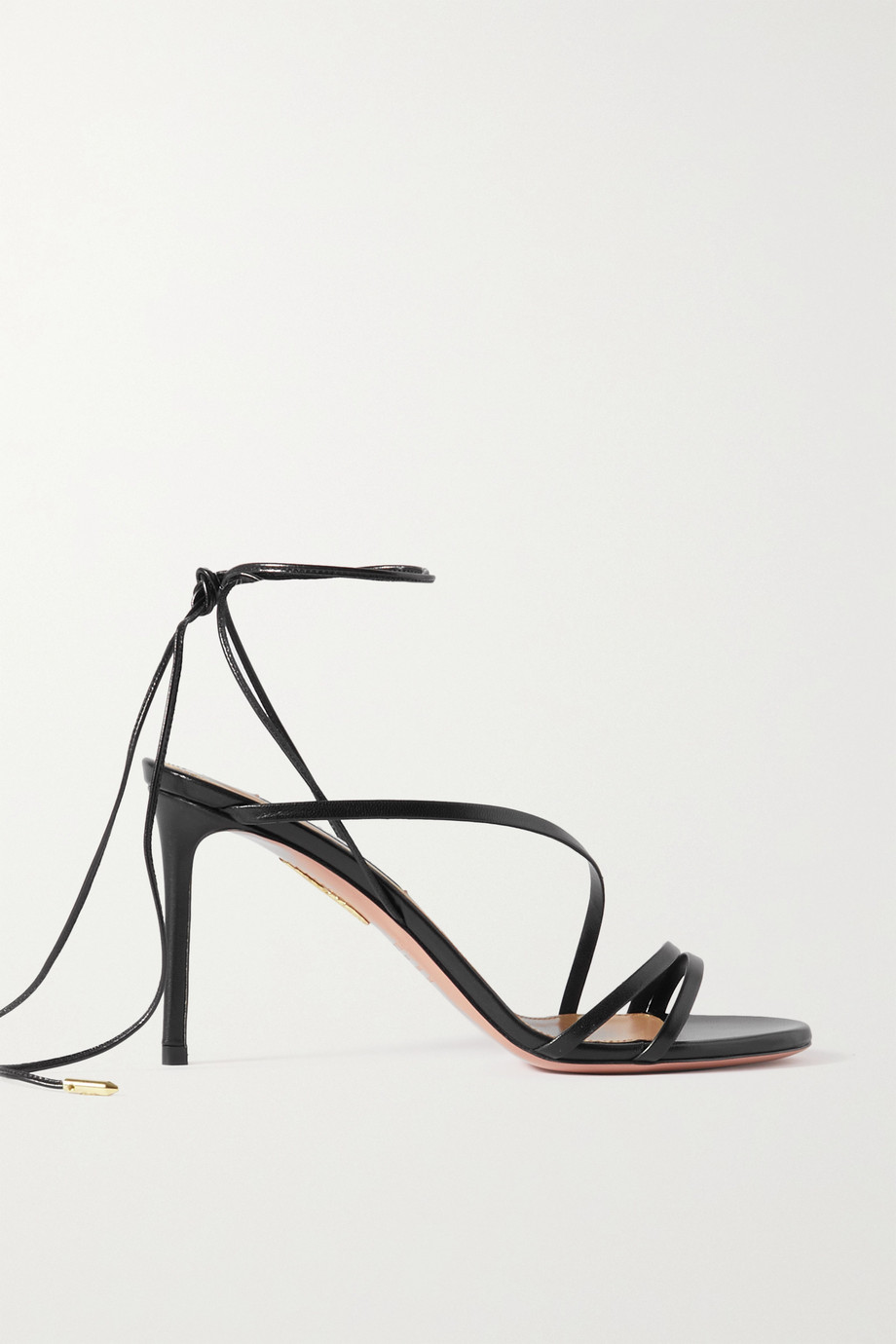 Aquazzura Carnal 85 leather sandals