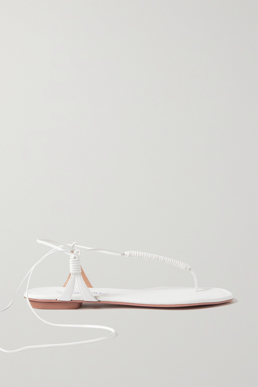 Aquazzura Sandalen aus Leder