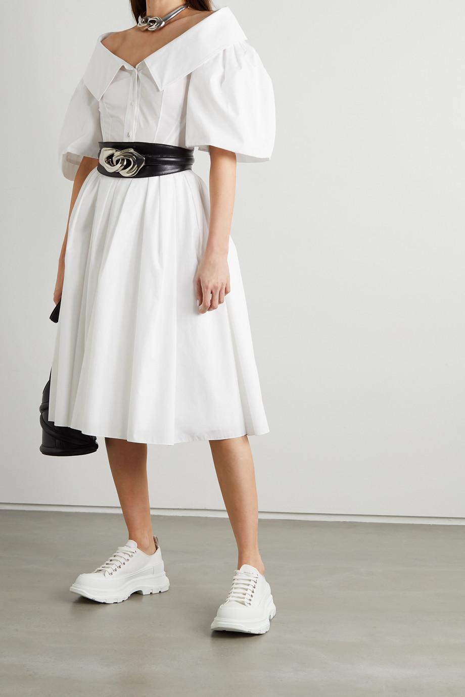 Alexander McQueen Cotton-poplin shirt dress