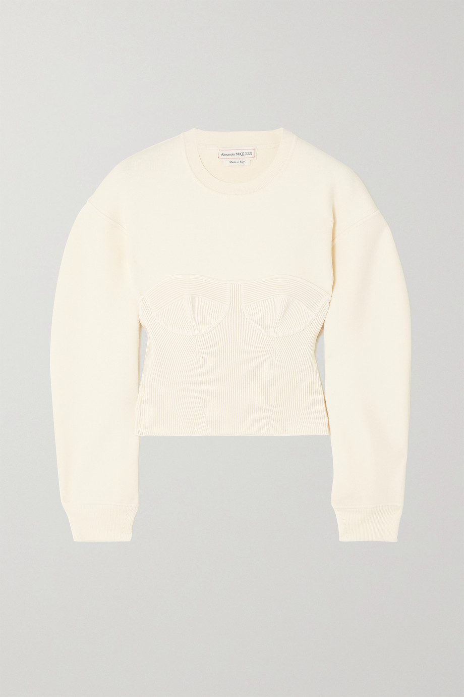 Alexander McQueen Pull en laine mélangée