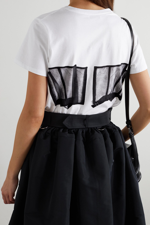 Alexander McQueen T-Shirt aus Baumwoll-Jersey mit Print