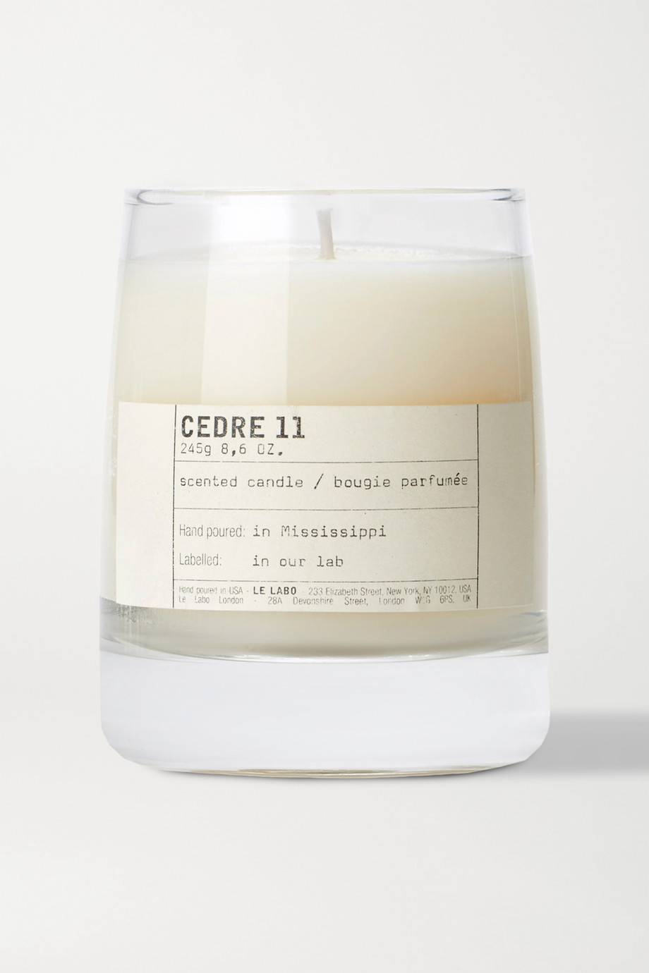 Le Labo Cedre 11 scented candle, 245g