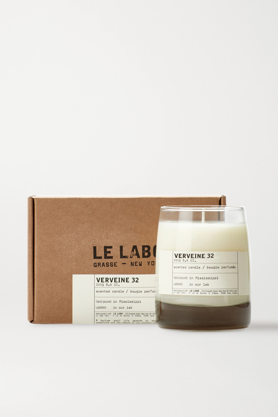 Le Labo Verveine 32 scented candle, 245g