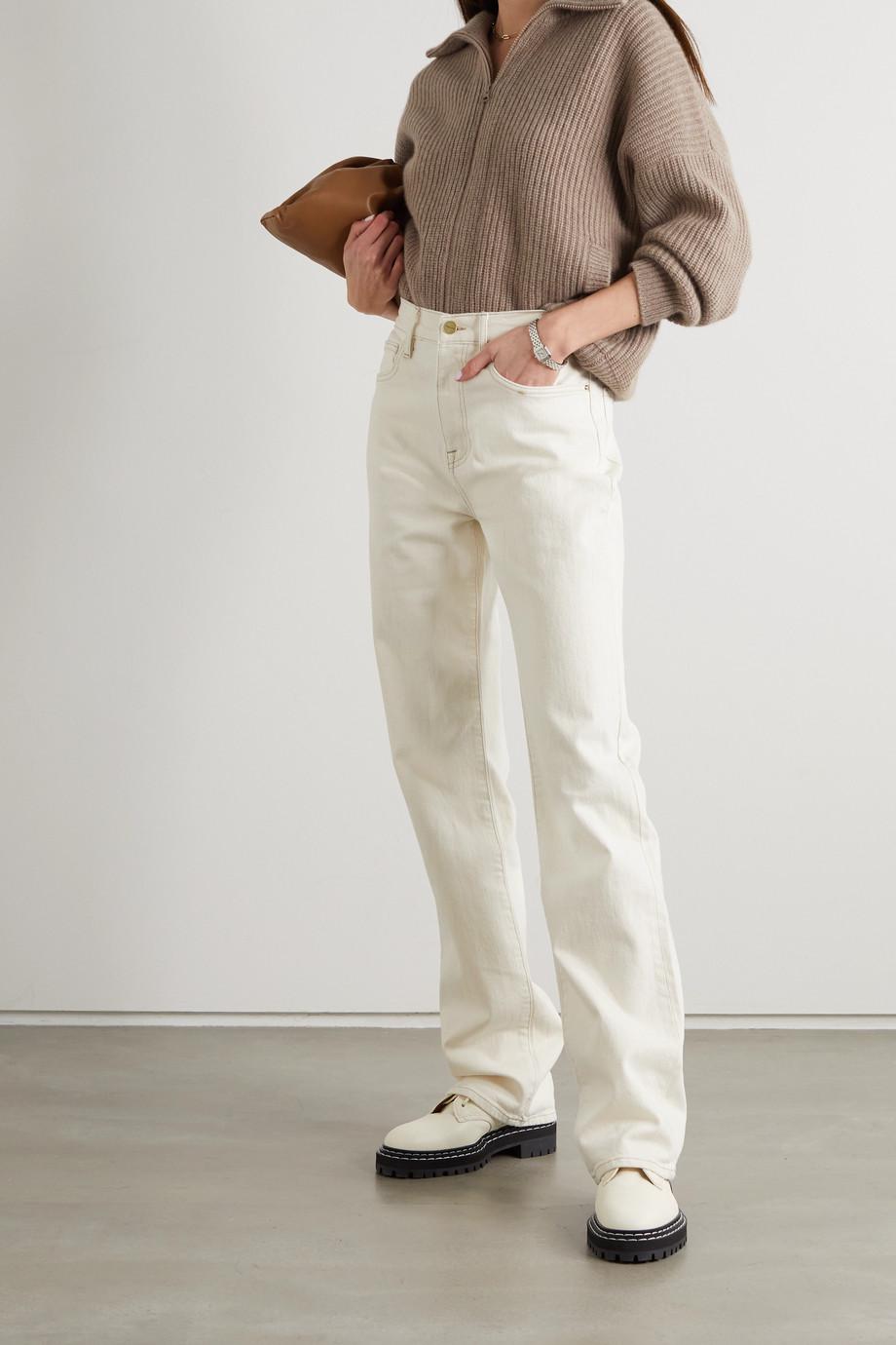 Lisa Yang Mela ribbed cashmere cardigan