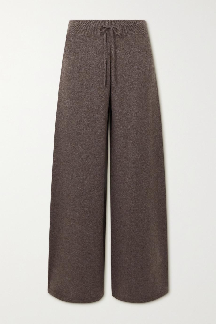 Lisa Yang Sofi cashmere wide-leg pants