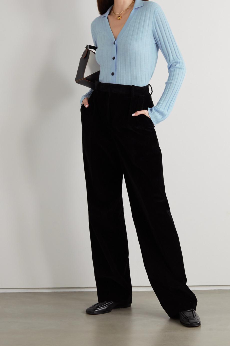 Lisa Yang Indya ribbed cashmere cardigan
