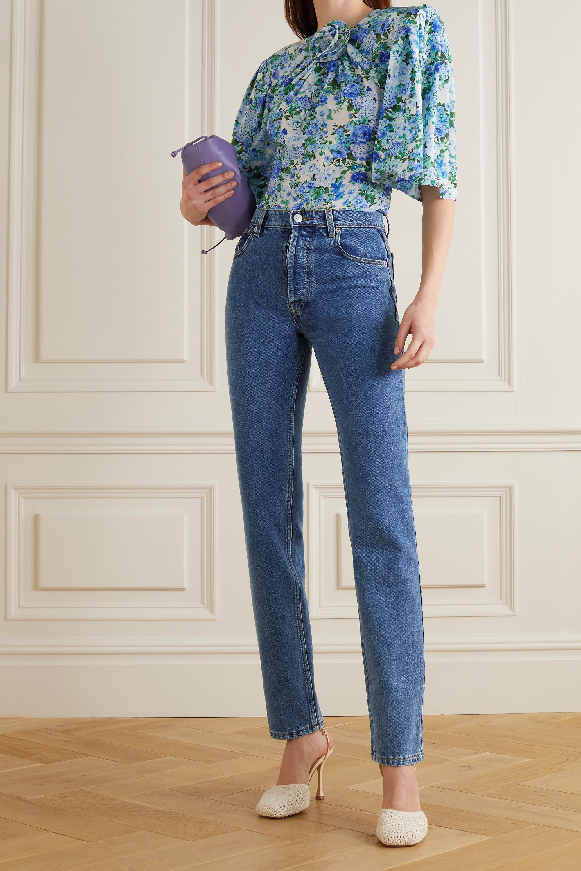 Magda Butrym Hoch sitzende Jeans mit schmalem Bein
