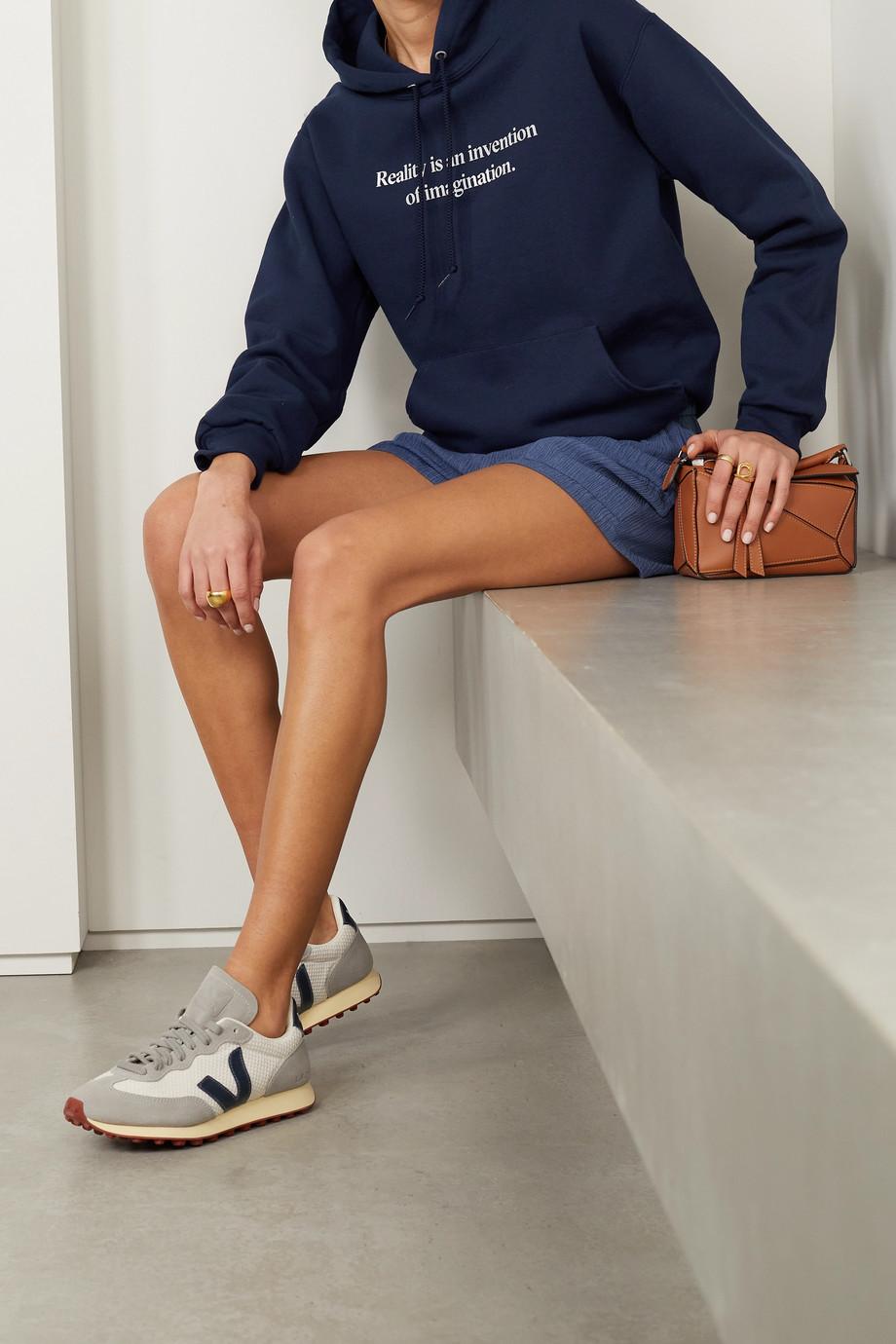 Paradised + NET SUSTAIN printed cotton-blend jersey hoodie
