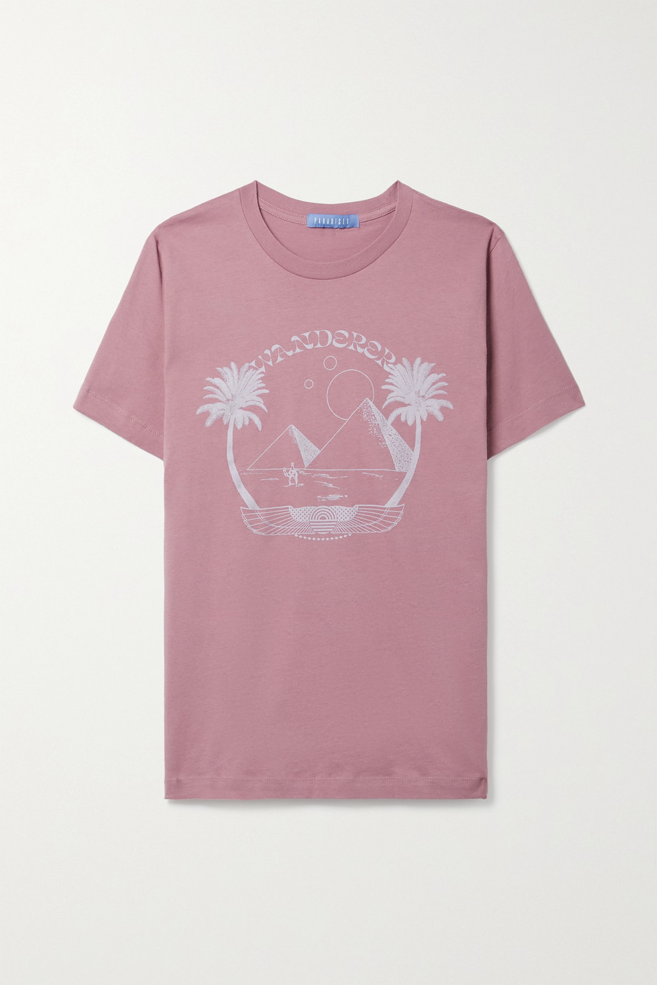 Paradised Printed cotton-jersey T-shirt