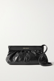 Isabel Marant Luzes gathered leather shoulder bag