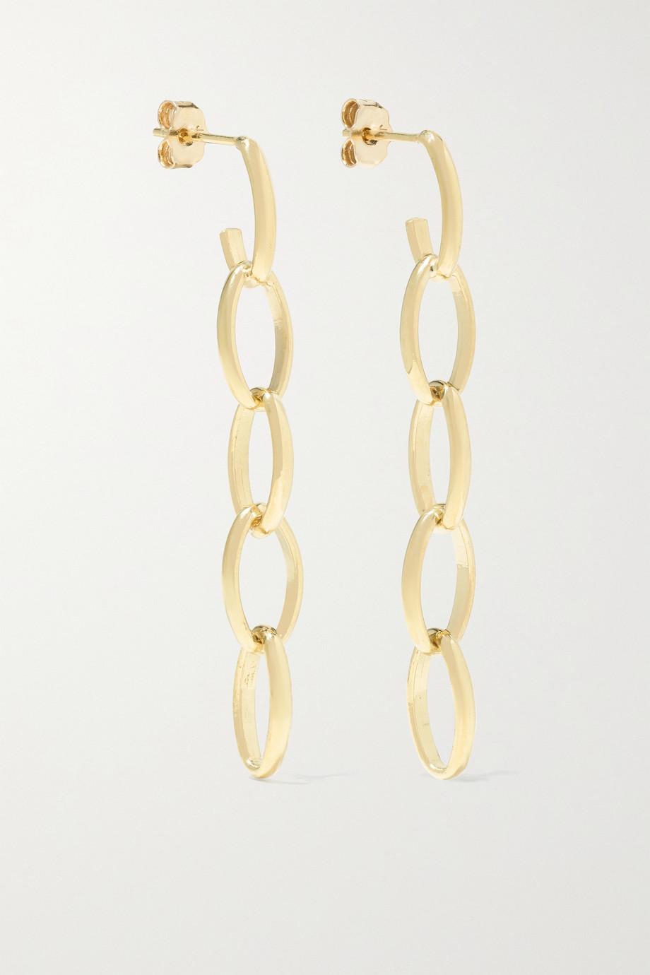 Jennifer Meyer Boucles d'oreilles en or 18 carats Edith Medium
