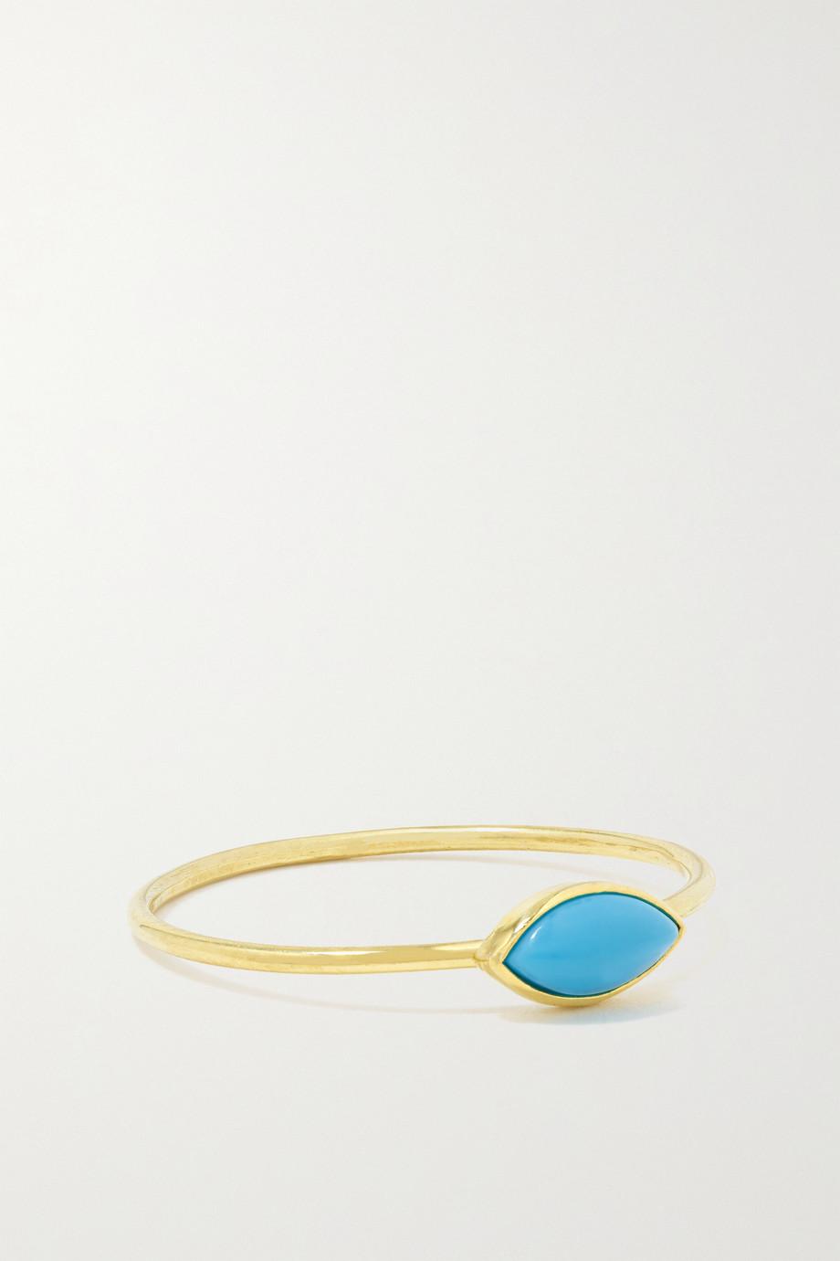 Jennifer Meyer 18-karat gold turquoise ring