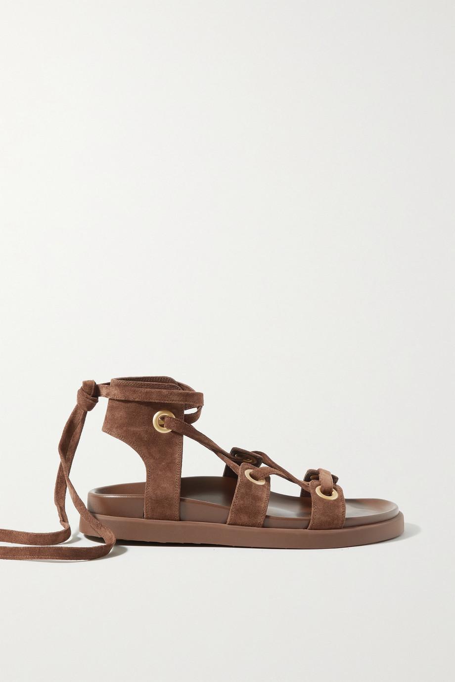 Gianvito Rossi Ibiza suede sandals